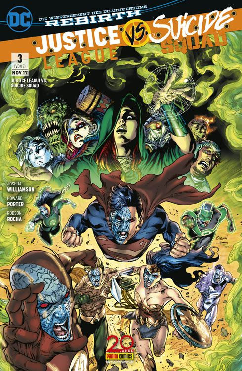 Pic Kritik Justice League vs. Suicide Squad #3