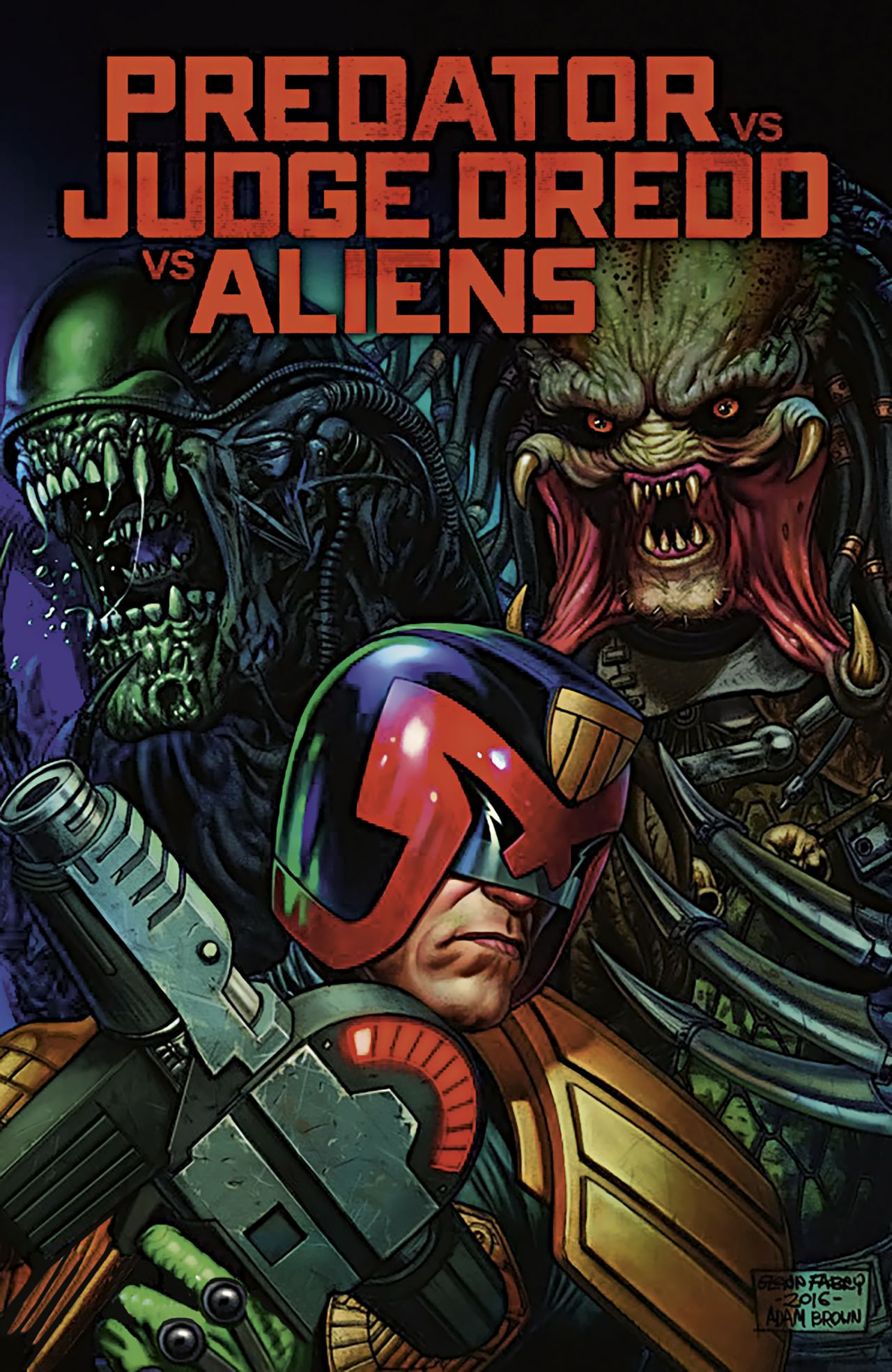 Pic Kritik Predator vs. Judge Dredd vs. Aliens